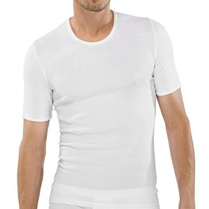 5er-Pack-Herren-Unterhemd-mit-14-Arm-Feinripp-glatt-Shirt-Farbe-Weiss-Gre-5M-93XL-100-Baumwolle-von-UNWAGO-0