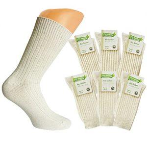 6-Paar-Herren-Strmpfe-Natura-Bio-Socken-mit-Bio-Baumwolle-und-Leinen-Natur-mit-Muster-0