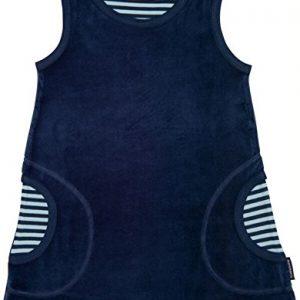 Blaues-Baby-Kleid-Nickimaterial-aus-Biobaumwolle-von-Maxomorra-0