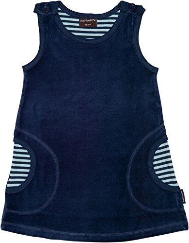 blaues baby kleid nickimaterial aus biobaumwolle von. Black Bedroom Furniture Sets. Home Design Ideas