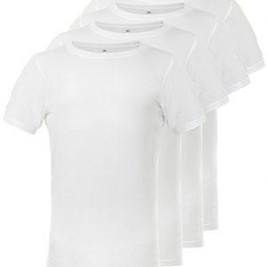 Continental-Clothing-T-Shirt-aus-Bambus-und-Bio-Baumwolle-fr-Herren-4er-Pack-Wei-S-bis-XXL-0