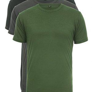 Continental-Clothing-T-Shirt-aus-Bambus-und-Bio-Baumwolle-fr-Herren-Mnner-3-Farben-3er-Pack-0