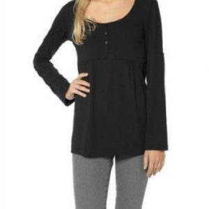Damen-Shirt-aus-95--Bio-Baumwolle-schwarz-AM-DA-813942-0