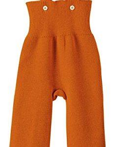 Disana-33106XX-Strick-Trgerhose-Wolle-orange-0