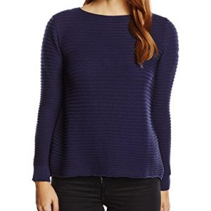 LANA-Damen-Pullover-Pulli-Carmen-Einfarbig-0