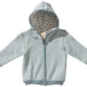LANA-natural-wear-Unisex-Baby-Jacke-gestreift-900-3009-5014-Wendejacke-Babalu-0