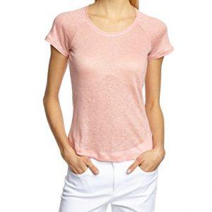 Lana-Damen-Top-Shirt-Lina-Einfarbig-0