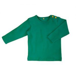 Leela-Cotton-Baby-Kinder-Langarmshirt-aus-Bio-Baumwolle-in-Irisch-Grn-0