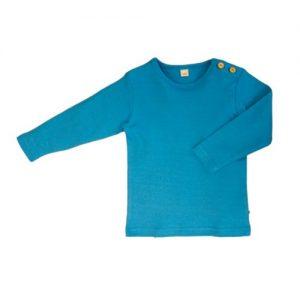 Leela-Cotton-Baby-Kinder-Langarmshirt-aus-Bio-Baumwolle-in-Nordisch-Blau-0