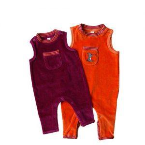Leela-Cotton-Baby-Nickystrampler-ohne-Fuss-100--Bio-Baumwolle-0