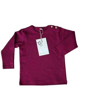 Leela-Cotton-BabyKinder-Langarmshirt-aus-Bio-Baumwolle-in-Fuchsia-0