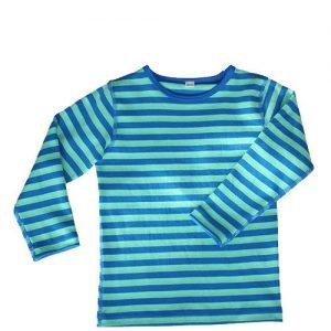 Leela-Cotton-BabyKinder-Langarmshirt-aus-Bio-Baumwolle-in-KnigsblauLindgrn-gestreift-0