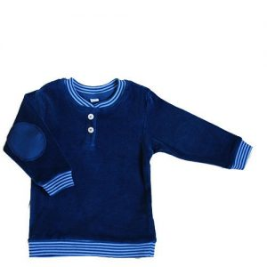 Leela-Cotton-BabyKinder-Nicky-Sweat-Shirt-aus-reiner-Bio-Baumwolle-in-Petrol-0
