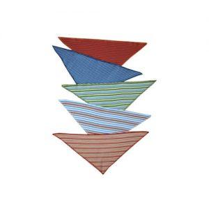 Leela-Cotton-Ringeljersey-Dreiecktuch-Einzeln-oder-im-5er-Pack-in-tollen-Farben-aus-Bio-Baumwolle-0