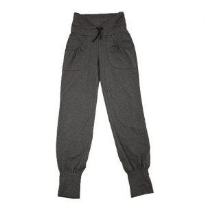 Leela-Cotton-Yogahose-ideal-fr-Yoga-Wellness-und-Sport-aus-Bio-Baumwolle-Anthrazit-0