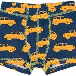 MAXOMORRA-Briefs-Boxershort-Unterhose-Jungen-Auto-Car-Blau-BioBaumwolle-GOTS-0