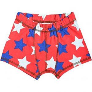 MAXOMORRA-Briefs-Boxershort-Unterhose-Jungen-Rot-Sterne-Stars-BioBaumwolle-GOTS-0