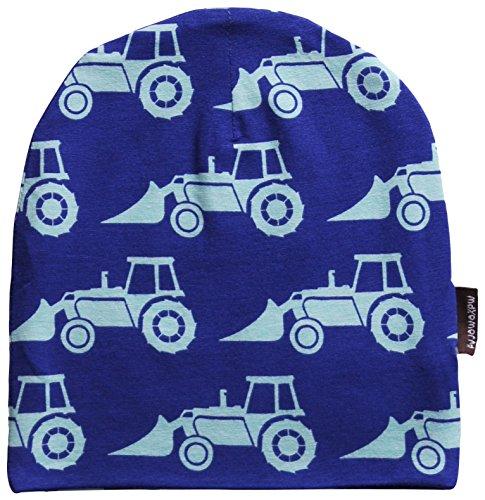 MAXOMORRA-Jungen-Mtze-Bagger-Traktor-Blau-Biobaumwolle-GOTS-0