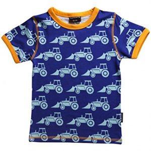MAXOMORRA-Jungen-T-Shirt-Kurzarm-Bagger-Traktor-Biobaumwolle-GOTS-0