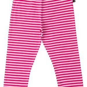 MAXOMORRA-Leggings-Mdchen-Pink-Rosa-Streifen-Biobaumwolle-GOTS-0