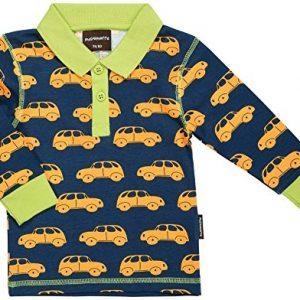 MAXOMORRA-TOP-LS-Polo-Shirt-Jungen-Auto-Little-Car-Petrol-Biobaumwolle-GOTS-0
