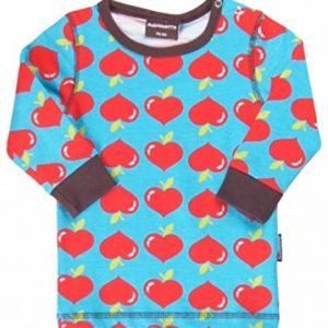 Maxomorra-Baby-Kinder-Pullover-Sweatshirt-Bio-Baumwolle-Modell-Lovely-Apples-div-Gr-0