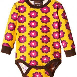 Maxomorra-Baby-Mdchen-Strampelanzug-WI5A-M015-Body-LS-Petunia-0