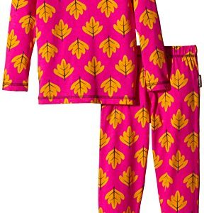 Maxomorra-Mdchen-Zweiteiliger-Schlafanzug-AU5B-M090-Pyama-Set-LS-0