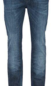 NUDIE-JEANS-Herren-Blaue-Slim-Jeans-Biobaumwolle-Thin-Finn-fr-herren-0