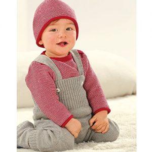 disana-BabyKleinkinder-Strick-Trgerhose-aus-Bio-Schurwolle-0