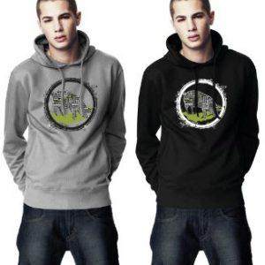 my-tagshirt-Herren-Pullover-Hoody-Pig-100-Bio-Fairtrade-0