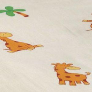 Cotonea-Edelbiber-Kinder-Bettwsche-Giraffe-Bio-Baumwolle-kbA-40x60100x135-0