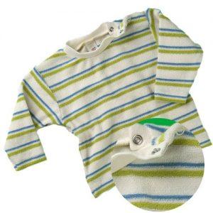 Engel-Natur-Bio-Baby-Pullover-Shirt-Baumwolle-kbA-Frottee-62-68-0