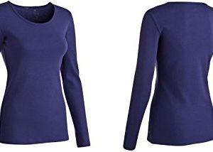 Exclusive-Damen-Langarmshirt-Biobaumwolle-Fitness-Pullover-Gr-3XL-jenasblau-0