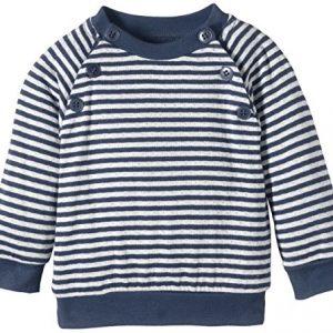 Lana-Natural-Wear-Unisex-Baby-Pullover-Pulli-Momo-Gestreift-Gr-80-Herstellergre-7480-Mehrfarbig-Indigomelange-Natur-2201-0