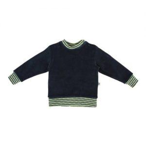 Leela-Cotton-BabyKinder-Nicky-Sweatshirt-2237-Dakar-aus-reiner-Bio-Baumwolle-Anthrazit-Gr-98104-0