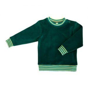 Leela-Cotton-BabyKinder-Nicky-Sweatshirt-Scandinavia-2237-aus-reiner-Bio-Baumwolle-Irisch-Grn-Gr-7480-0