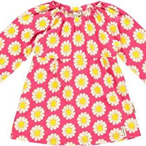 Maxomorra-Mdchen-Tunika-Longtop-Daisy-Bio-Baumwolle-GOTS-pink-mit-Printmotiv-Gre92-0