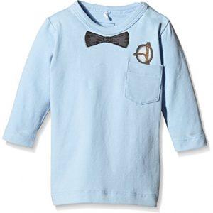 NAME-IT-Baby-Jungen-Langarmshirts-NITPER-NB-CU-LS-TOP-GER-615-Einfarbig-Gr-80-Blau-Cerulean-0