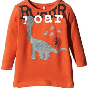 NAME-IT-Baby-Jungen-Langarmshirts-Nitnick-Nb-Cu-Ls-Top-Ger-515-mit-Print-Gr-56-Orange-Chili-0