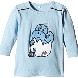 NAME-IT-Baby-Jungen-Langarmshirts-Nitnickis-Nb-So-Ls-Top-Ger-515-mit-Print-Gr-74-Blau-Cerulean-0