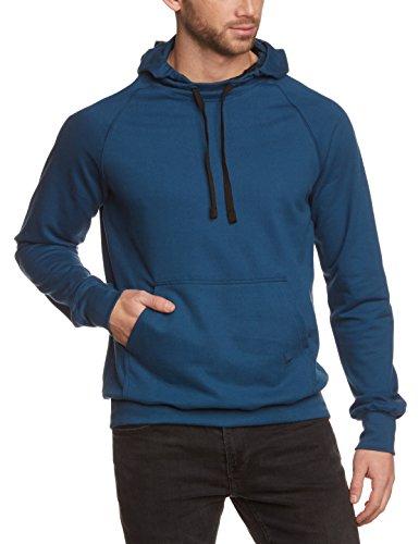 Trigema-Herren-Kapuzenpullover-BIO-Einfarbig-Gr-2X-Large-blau-saphir-C2C-552-0