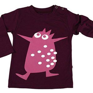 natubini-Kinder-Langarm-Shirt-Little-Monster-Ballett-Pinguin-Baby-und-Kleinkinder-Top-mit-Rundhalsausschnitt-und-langen-rmeln-100-Baumwolle-Gre-62-0