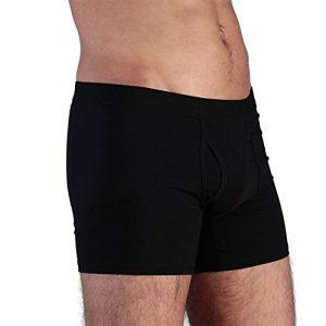 ALBERO-Herren-Boxer-Shorts-Bio-BaumwolleElasthan-Schwarz-Gr-XL-0