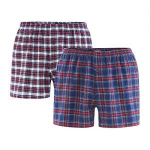 Living-Crafts-Boxer-Shorts-2er-Pack-XXL-Tartan-0